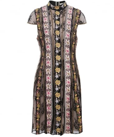 Embroidered Gwyneth Dress