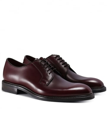 Leather Ghost Derby Shoes