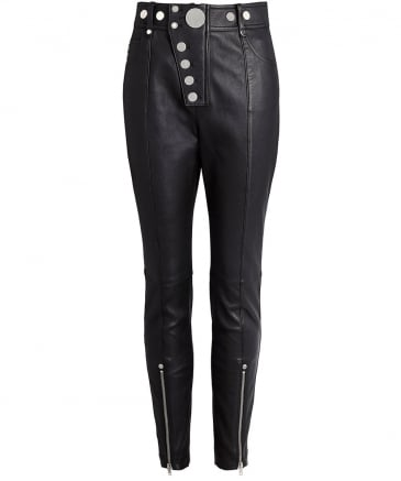 Leather High Waisted Leggings