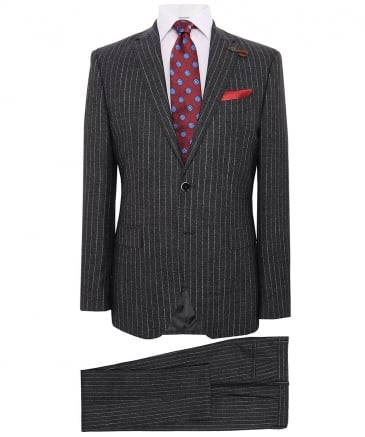 Wool Richard Pinstripe Suit