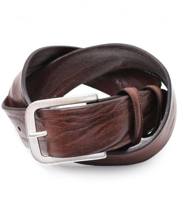 Vintage Feel Leather Belt