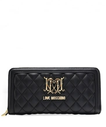 Quilted Leather Purse
