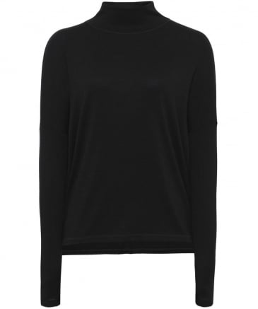 Amelie Cutout Roll Neck Top