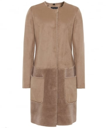 Faux Sheepskin Charo Coat