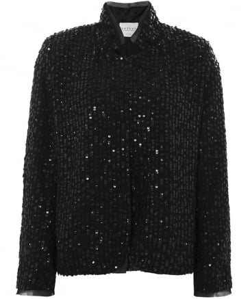 Embellished Sequin Razi Jacket