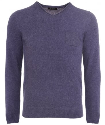 Alpaca V-Neck Jumper