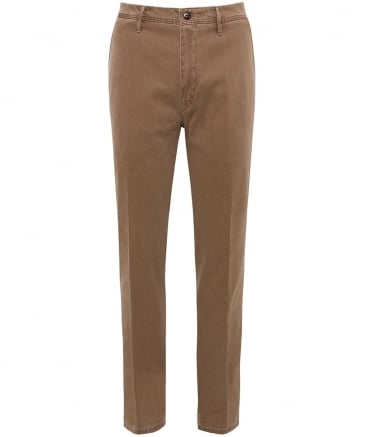 Stretch Cotton Lupus Trousers