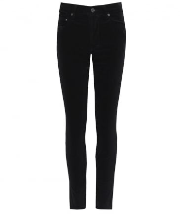 High Rise Cara Cigarette Ankle Jeans