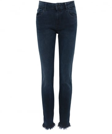 Florence Instasculpt Cropped Jeans