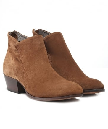 Suede Apisi Western Boots