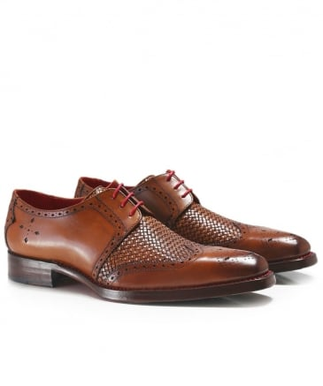 Leather Wing-Tip Harbour Dexter Shoes