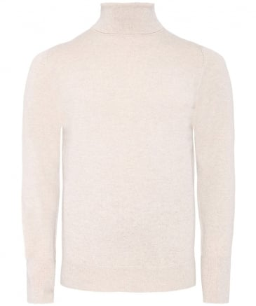 Cashmere Oxton Roll Neck Jumper