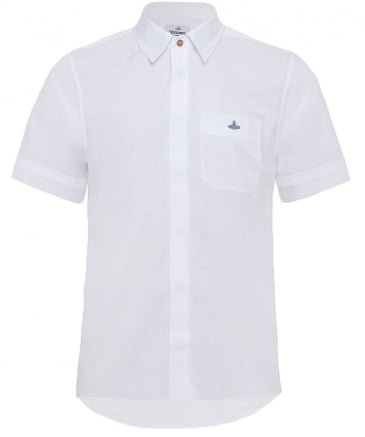 Stretch Cotton Short Sleeve Shirt