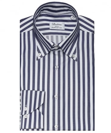 Slimline Wide Stripe Shirt