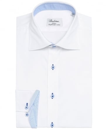 Slimline Stripe Trim Shirt