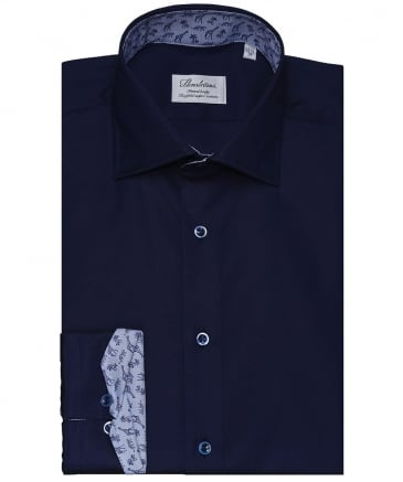 Fitted Body Jungle Trim Shirt