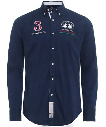 Slim Fit Maserati Shirt