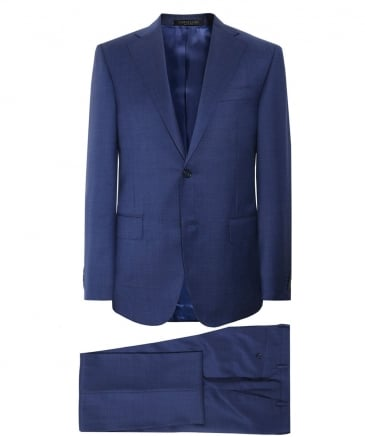 Virgin Wool Micro Pin-Dot Suit