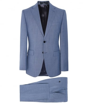 Regular Fit Virgin Wool Johnstons5/Lenon1 Suit