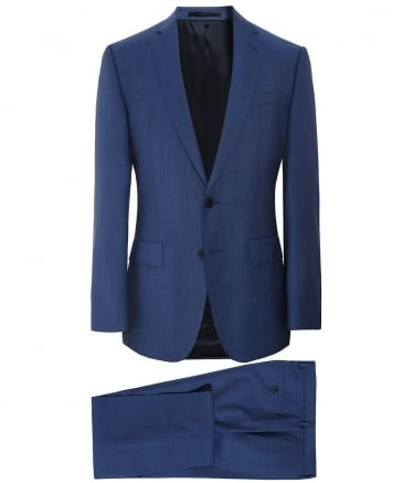 Slim Fit Virgin Wool Huge6/Genius5 Suit