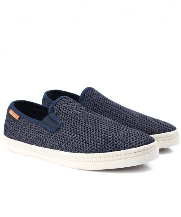 Woven Slip-On Viktor Trainers