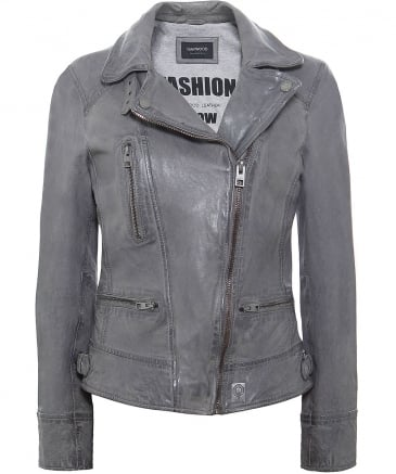 Video Biker Leather Jacket