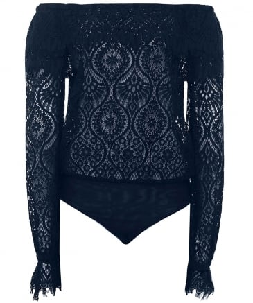 Peacock Lace Bodysuit
