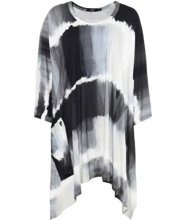 Merle Abstract Print Tunic