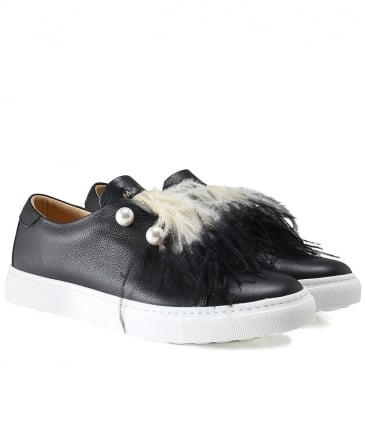 Ombre Feather Eusy Trainers
