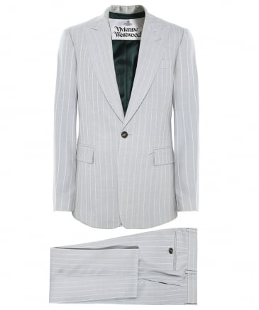 Virgin Wool Pinstripe James Suit