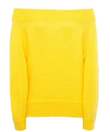 Mohair Off The Shoulder Imi Jumper