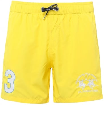 Numbered Swim Shorts