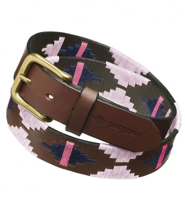 Leather Rosa Polo Belt