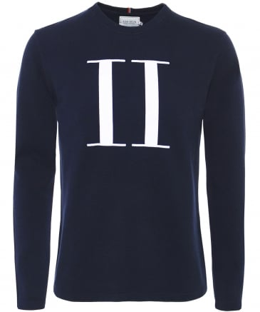 Crew Neck Pique Cotton Encore Sweatshirt