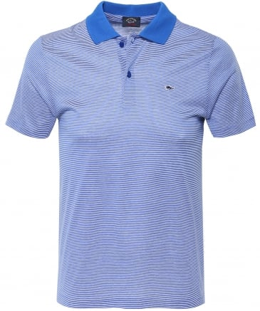 Shark Fit Heritage Shark Striped Polo Shirt