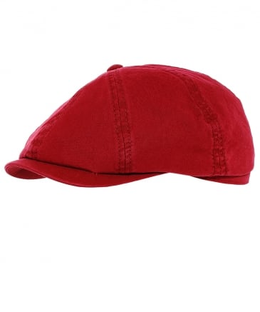 Washed Organic Cotton Hatteras Newsboy Cap