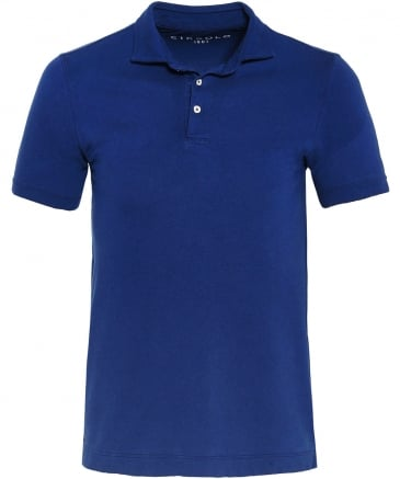 Washed Pique Cotton Polo Shirt