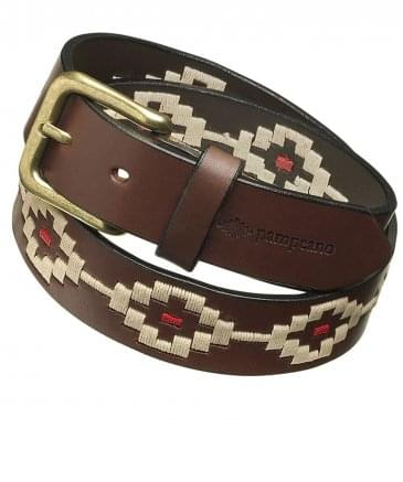 Leather Principe Polo Belt