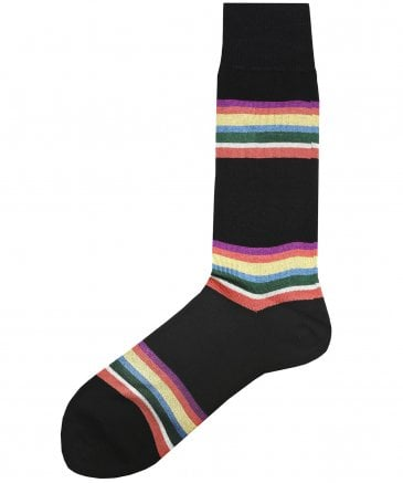 Kem Block-Stripe Socks