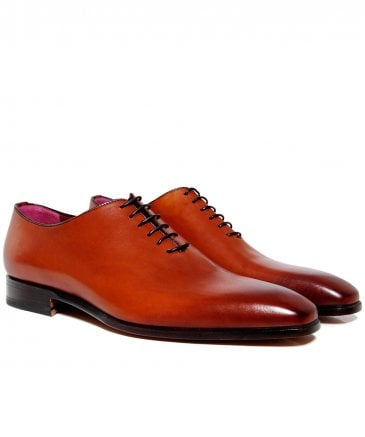 Leather Prince Derby Shoes