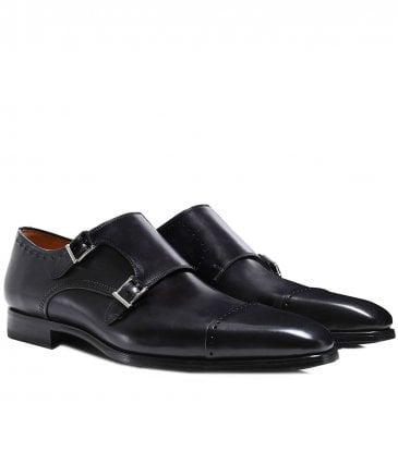 Thunder Double Monk Strap Shoes