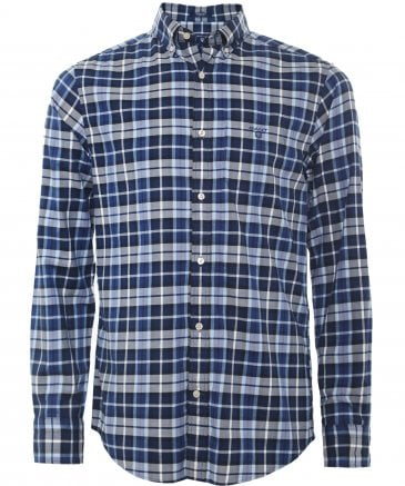 Regular Fit Plaid Check Shirt