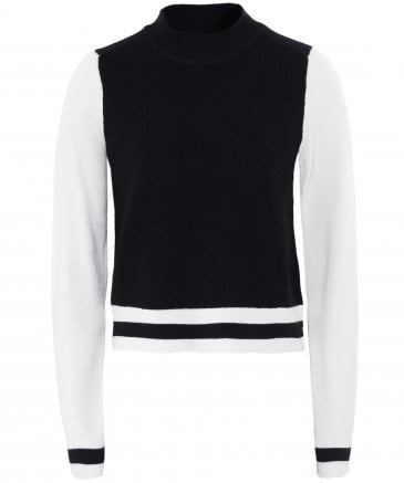 Merino Wool Dean Cropped Jumper