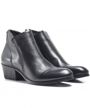 Apisi Leather Ankle Boots