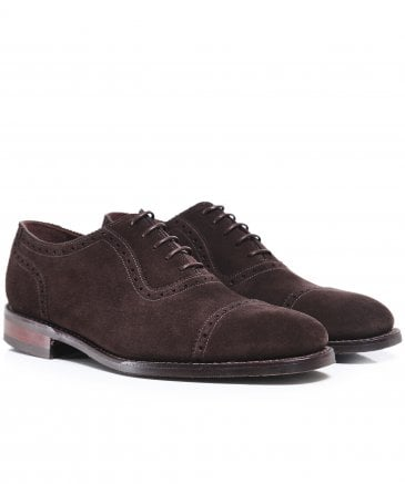 Suede Fleet Oxford Shoes