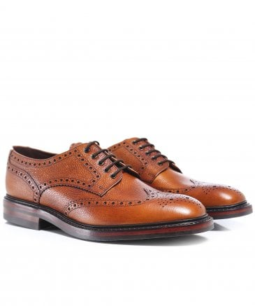 Leather Badminton Brogues