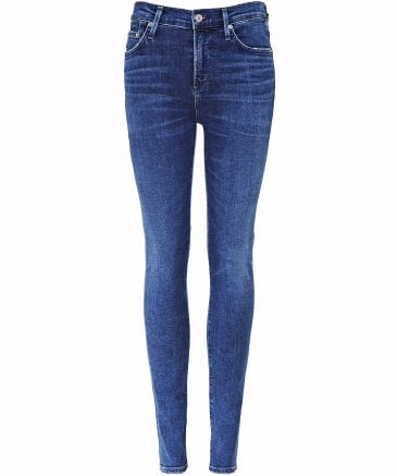 Citizens of Humanity Women's High Rise Rocket Skinny Jeans