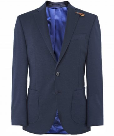 Regular Fit Jersey Blazer