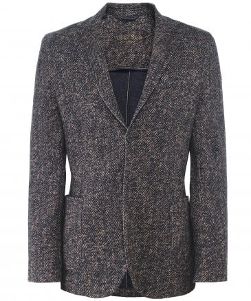 Cotton Herringbone Jacket