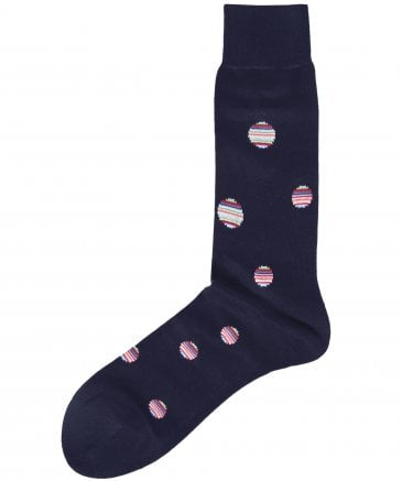 Striped Polka Dot Socks